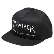 Thrasher New Religion Snapback Hat - Black