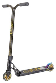 Grit Flux Complete Scooter - Black/Laser Gold