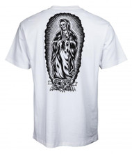 Santa Cruz T-Shirt Jesse Guadalupe Bones - White