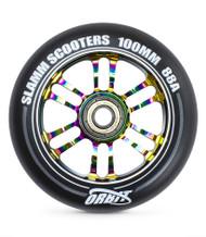 Slamm Orbit 100mm Metal Core Wheel - Neo Chrome