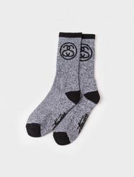 Stussy - SS - Link Premium Socks - Grey