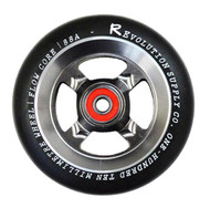 Revolution Supply Co Flow Core Wheel - Black/Raw