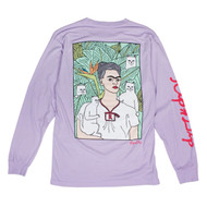 RIPNDIP Portrait Longsleeve Tee - Powder Purple