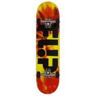 """Flip Odyssey tie dye red complete skateboard 7.75"""""""