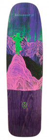 Alien Workshop One Off Deck - Dino JR Give a Glimpse Old Skl - Purple - 8.75  IN