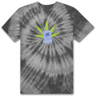 HUF X South Park  Towelie Tie-Dye Tee - Black