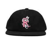 RIPNDIP - Hugger 6 Panel Cotton Twill Hat - Black