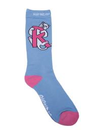 RIPNDIP - Hugger Socks (Baby Blue) - Baby Blue