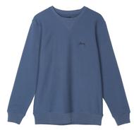 Stussy Stock Logo Crew Sweatshirt - Blue