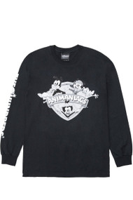 The Hundreds X Animaniacs - Animaniacs Shield L/S Shirt - Black