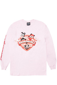 The Hundreds X Animaniacs - Animaniacs Shield L/S Shirt - Pink