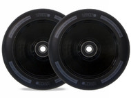 Lucky Lunar 110mm Hollow Core Stunt Scooter Wheels - Black / Black