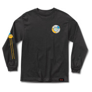 Grizzly X Adventure Time Lets Get Stupid L/S Tee - Black