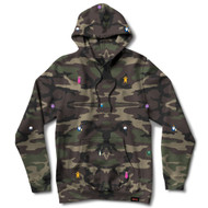 Grizzly X Adventure Time Life Burrito Hoodie Camo