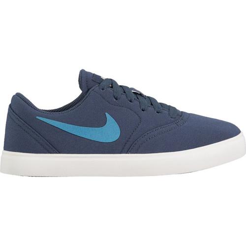 ... Nike SB Check CNVS - Skateboarding Shoe - Thunder Blue. Image 1