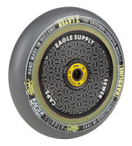 Eagle Stunt Scooter Wheel 115mm Hollow Core Panthers - Grey / Black