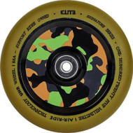 Elite Camo Air-Ride Scooter Wheel 110mm - Gum / Camo