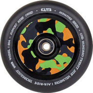 Elite Camo Air-Ride Scooter Wheel 110mm - Black / Camo