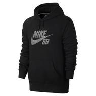 Nike SB Dot Logo Hoodie - Black / White