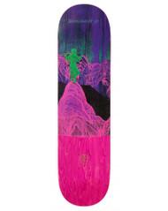"Alien Workshop X Dinosaur Jr Skateboard Deck - Give a Glimpse - 8.125"""