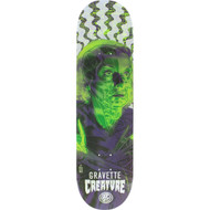 Creature Skateboards David Gravette Anatomy Pro P2 Skateboard Deck 8.25