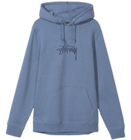 Stussy Applique Hoody - Cool Blue