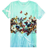HUF - Butterfly Effect Tiedye Tee -  Multi Colored