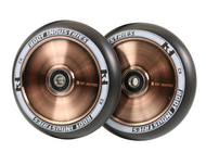 Root Industries 110mm Air Wheels - Pair -  Black on Coppertone