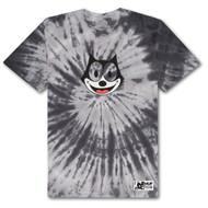 HUF X Felix The Cat Hypnotize Spiral Tee - Black