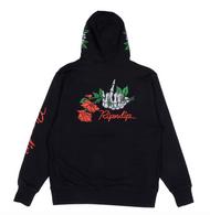 RIPNDIP Dead Roses Hoodie - Black