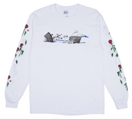 RIPNDIP Max Nerm Long Sleeve Tee - White