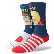 Stance X Street Fighter 2 Socks - Ryu VS Ken