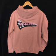 The Boardroom Classic Logo Hoodie - Dusty Rose / Pink