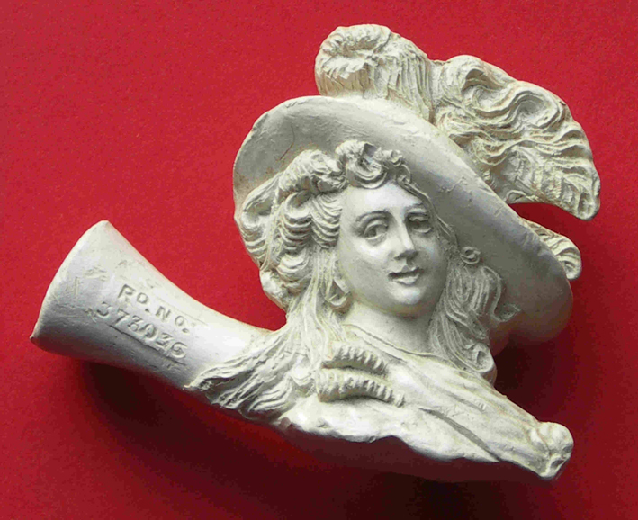 Example of clay pipe history