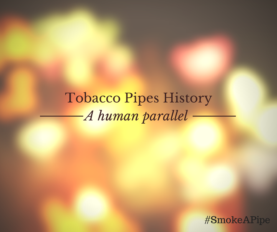 Tobacco Pipes History Intro Graphic