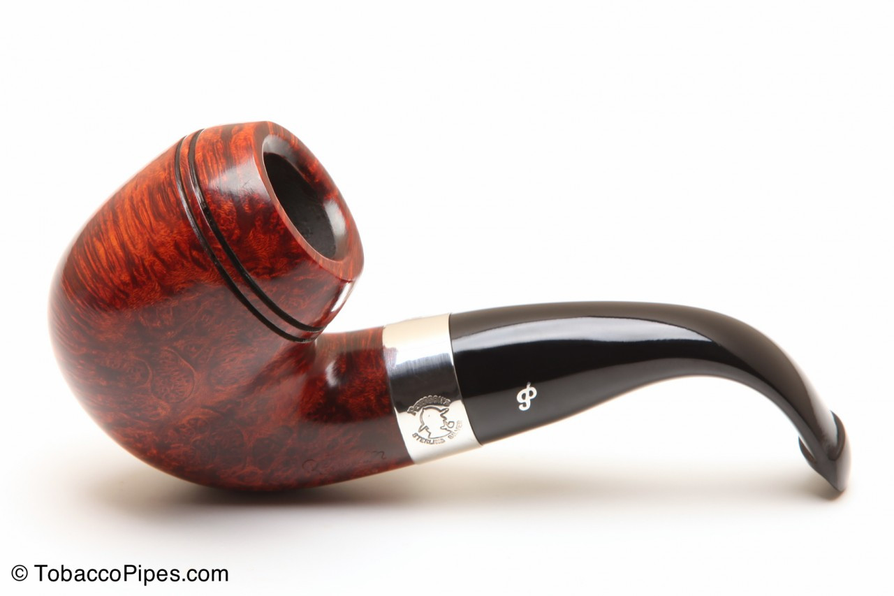 Tobacco Pipe Bent Rhodesian Shape