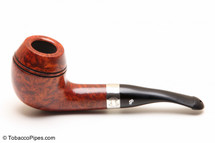 Peterson Sherlock Holmes Deerstalker Smooth Tobacco Pipe PLIP Left Side