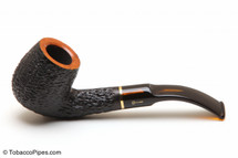 Savinelli Oscar Tiger 603 Tobacco Pipe - Rustic Left Side