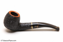Savinelli Oscar Tiger Rustic Briar Pipe 626 Tobacco Pipe Left Side