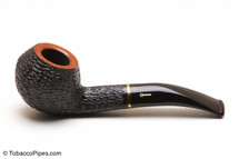 Savinelli Oscar Tiger 673 KS Tobacco Pipe - Rustic Left Side