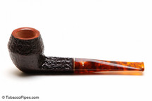 Savinelli Tortuga Rustic Briar 504 Tobacco Pipe Left Side