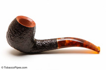 Savinelli Tortuga Rustic Briar 677 KS Tobacco Pipe Left Side
