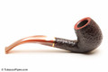 Savinelli Roma Rustic 602 Lucite Stem Tobacco Pipe Right Side