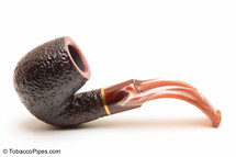 Savinelli Roma Rustic 614 Lucite Stem Tobacco Pipe