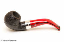Peterson Dracula 03 Sandblast Fishtail Tobacco Pipe Left Side