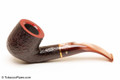 Savinelli Roma Rustic 622 KS Lucite Stem Tobacco Pipe Left Side