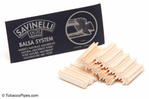 Savinelli 9mm Balsa Filters - 15 count