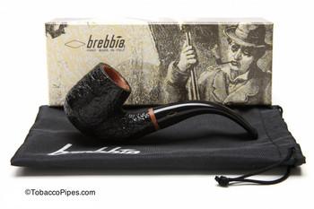 Brebbia 1960 Sabbiata Nera 6000 Tobacco Pipe Kit