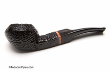 Brebbia 1960 Sabbiata Nera 623 Tobacco Pipe Left Side