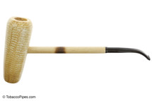 Missouri Meerschaum MacArthur 5 Star Bent Tobacco Pipe Left Side
